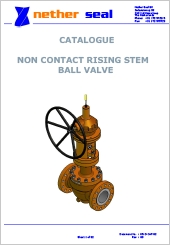 Non Contat Rising Stem Ball Valve